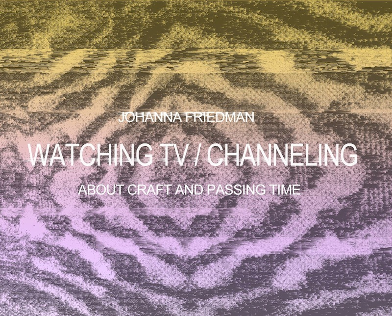Vernissagekort till Johanna Friedmans utställning p åGalleri 21 i Malmö