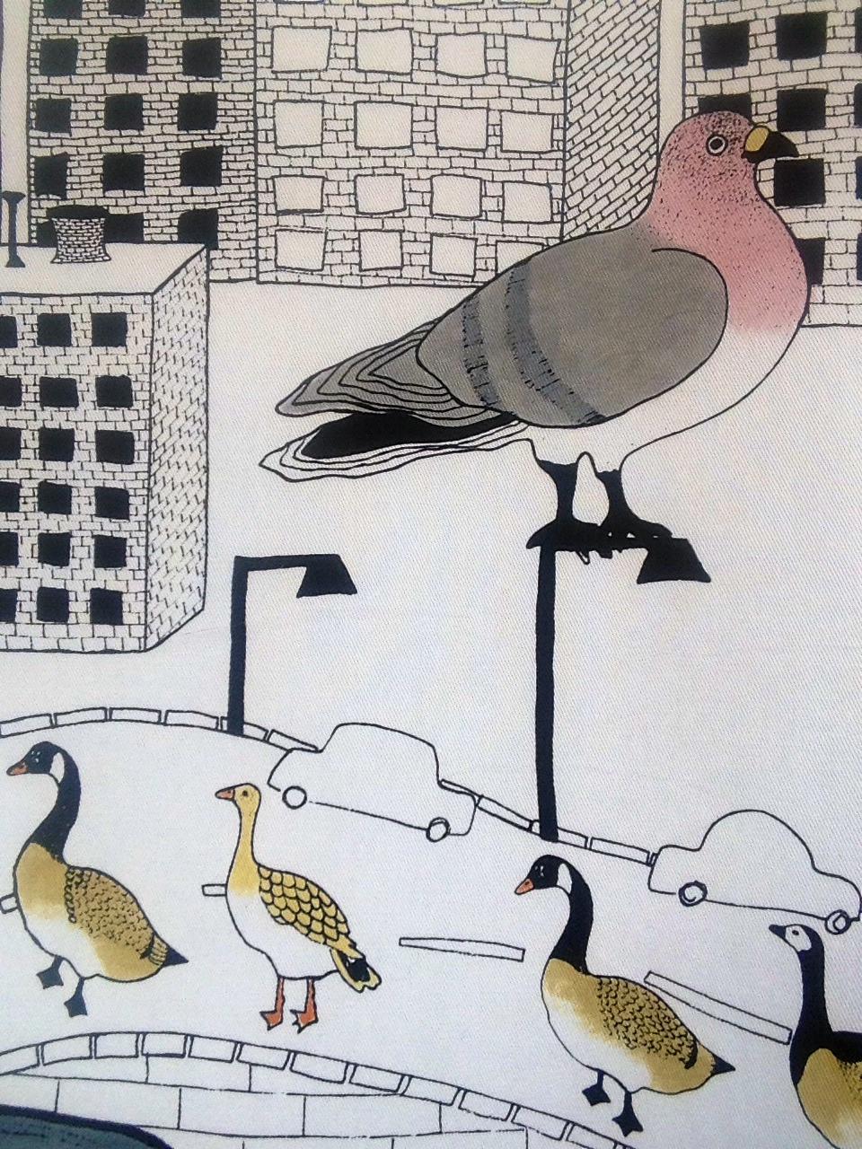 Malin Svärd, fåglar